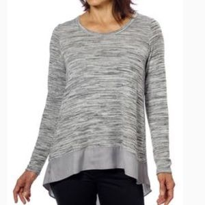 Sweaters - Anthropologie Lilli's Closet Heather Gray Sweater